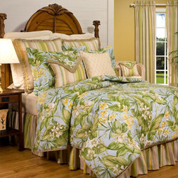 "Thomasville at Home - ""Paradise Point"" Bedding by Thomasville at Home - Paradise Point Comforters & Duvet Covers by Thomasville at Home from Kellsson Home Linens"