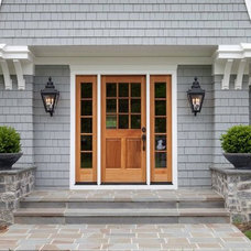 Traditional Exterior by Smithouse