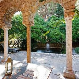Limestone Columns - Antique Limestone Columns by 'Ancient Surfaces'