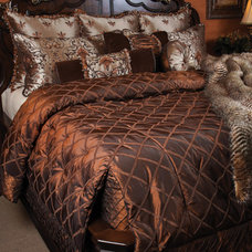 Mediterranean Quilts And Quilt Sets by K&R Interiors