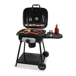 Blue Rhino - Blue Rhino Charcoal Grill 410 Sq. In. - Blue Rhino Deluxe Outdoor Charcoal Grill.