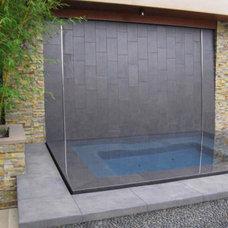 Contemporary Exterior by Downunda Aquatic Environments