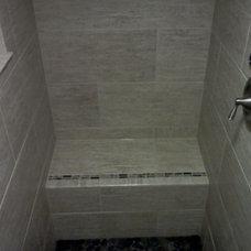 Contemporary Bathroom by Tundra Finish Works LLC