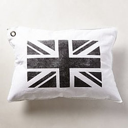 Anthropologie - Union Jack Pillow - *By Kriss LeCocq