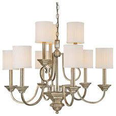 "Traditional Chandeliers Traditional Fifth Avenue Collection 9-Light 32"" Wide Chandelier."