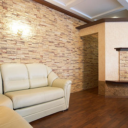 Solid Hardwood Flooring - A unique and sophisticated room atmosphere with solid wood and natural stones - Foundation Floors
