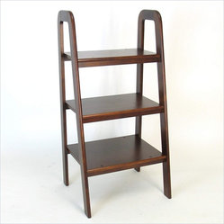 Wayborn Birchwood Ladder Stand in Brown