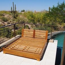 Contemporary Swimming Pools And Spas by QDI Stone - Dallas