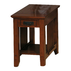 Jofran Viejo Chairside Table