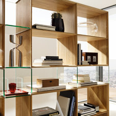 Modern Bookcases by Wharfside