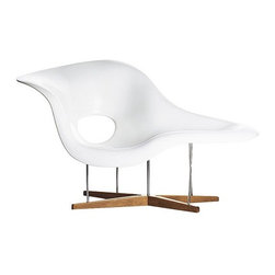 Modern Classics - Eames: Molded Eliptical Chair Reproduction - Features:
