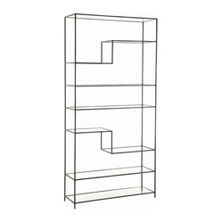 Worchester Bookshelf, Iron
