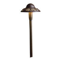Kichler - Kichler Other Outdoor Post/Pier in Red - Shown in picture: LED Pierced Dome in Textured Architectural Bronze