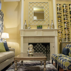 Eclectic Living Room by JDS DESIGNS