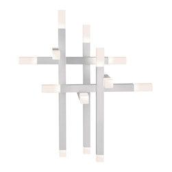 Sonneman - Sonneman 2143.16 Connetix Bright Satin Aluminum LED Table Lamp - Sonneman 2143.16 Connetix Bright Satin Aluminum LED Table Lamp