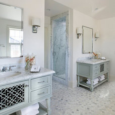 Traditional Tile by Chelsea Court Designs