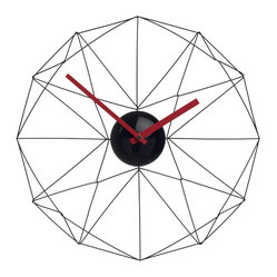 Wired Web Wall Clock