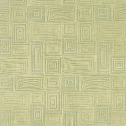 Light Green Geometric Square Rectangle Microfiber Upholstery Fabric By The Yard - P8123 is great for all indoor upholstery applications including: automotive, residential, commercial and hospitality. Microfiber fabrics are inherently stain resistant, durable and machine washable. In addition, all of our microfiber fabrics are made in America.