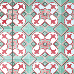 Cuban Heritage 017 - 8x8 Cement Tile