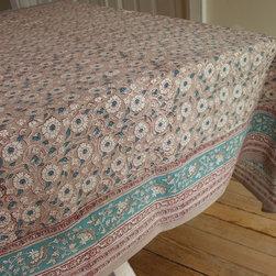 tablecloths - Rasany block printed Tablecloths