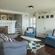 Beach Style  by Ronald F. DiMauro Architects, Inc.
