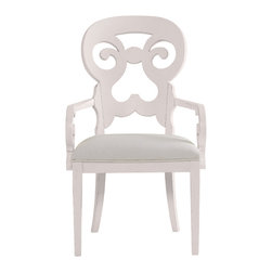 Stanley Furniture - Coastal Living Cottage Wayfarer Arm Chair - Twilight Finish - Named for the travelers who made their way from town to town in search of respite, this cozy arm chair wraps around you like a welcoming summer breeze. Made to order in America.