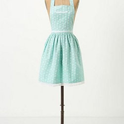 """Anthropologie - Sugar-Spots Apron - Front pocketsCottonMachine wash34""""L, 28.5""""W33"""" tiesImported"""