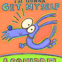 Hal Mayforth - Today I'm Going to Get Myself a Squirrel - Limited Edition