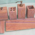 Bathroom set - Rainbow sandstone bathroom set