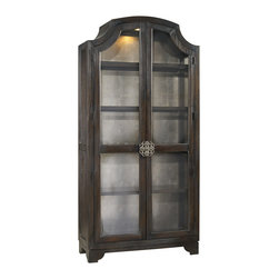 Hooker Furniture - Hooker Furniture Sanctuary Bunching Curio 3031-50001 - Pursue serenity at home. Create your own personal sanctuary, a special place where you can experience...comfort within.