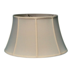 Home Concept - Egg Shell Floor Shantung Lampshade 13x19x11 - Why Upgrade to Home Concept Signature Shades?