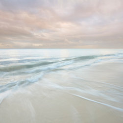 Franklin Arts - Abstract Seascape Canvas Artwork - Title: BREATHLESS