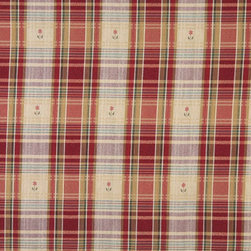 P9194-Sample - This plaid is an upholstery grade fabric. It is rated heavy duty, and can be used for all indoor applications.