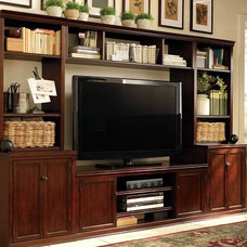 Traditional Media Storage by Pottery Barn