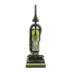 Panasonic - Panasonic MCUL815 JetTurn Upright Vacuum Cleaner - Green - MCUL815 - Shop for Vacuums from Hayneedle.com! An all-in-one cleaning station the Panasonic MCUL815 JetTurn Upright Vacuum Cleaner Green features a mobile design that turns on a dime and reclines flat to get beneath beds tables and other low-justified furniture. A 13-inch cleaning path and a 24-foot power cord (with automatic retraction) let you clean a large area from a single outlet featuring a built-in dirt detector to let you know when the carpet is fully clean. A washable HEPA filter helps remove pollen dust and other allergens. No bag required: the dirt and dust are deposited into an easy-empty bottom-drop collector cup. A variety of onboard tools are included to help clean corners stairs furniture and more.About PanasonicBased in Secaucus NJ Panasonic has spent more than 50 years delighting American consumers with innovations for home and business. Panasonic works hard at putting the needs of the consumer and public first by understanding how its products can impact people's loves for the better. Committed to contributing to the progress and development of society Panasonic creates and supports initiatives that help people around the world. Panasonic is also committed to securing a healthy future for the planet and has worked hard at being green for many years. A leader in development Panasonic remains dedicated to the people and communities it serves.