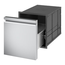 Ronda Distributed by Evo, Inc. - Ronda Insulated Single Drawer - Thanks to the insulating system, the magnetic seal and the use of specially designed and patented materials, The Ronda Insulated Single Drawer is able to keep the temperature as long as you need. The magnetic seal avoids dust and unwelcome intruders.