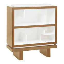Storytime Single Bookcase, Snow w/ Light Frame