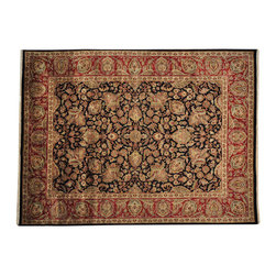 1800-Get-A-Rug - Rajasthan 100% Wool Thick and Plush Hand Knotted Oriental Rug Sh19270 - Rajasthan 100% Wool Thick and Plush Hand Knotted Oriental Rug Sh19270