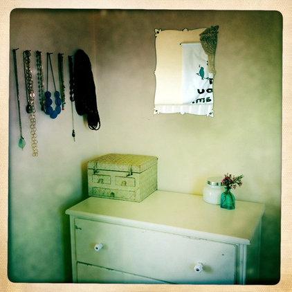 Eclectic Bedroom dresser