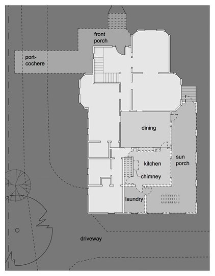 Floor Plan by Anne Niedergang, Architect