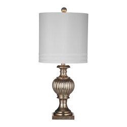 Bassett Mirror - Bassett Mirror Senoia Table Lamp L2769TEC - Bassett Mirror Senoia Table lamp L2769TEC