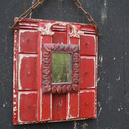 Robin @ Turtles Creek - Bright Red Festive Key Hanger or Display Rack!