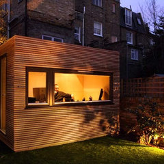 contemporary prefab studios by Ecospace