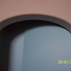 Various Curve products - This is an example of Curve-Arches for Drywall. This is a parabolic archway.