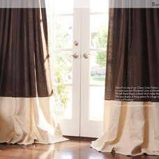 Modern Curtains by DrapeStyle