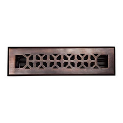 The Copper Factory - Copper Factory Copper 2 1/4 x12 Inch Floor Register Damper Copper - Copper Factory Copper 2 1/4 x12 Inch Floor Register Damper Copper