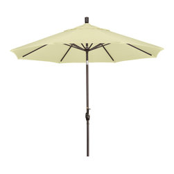 California Umbrella - 9 Foot Sunbrella Aluminum Crank Lift Push Tilt Patio Umbrella, Bronze Pole - California Umbrella, Inc. has been producing high quality patio umbrellas and frames for over 50-years. The California Umbrella trademark is immediately recognized for its standard in engineering and innovation among all brands in the United States. As a leader in the industry, they strive to provide you with products and service that will satisfy even the most demanding consumers.