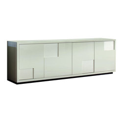 Rossetto - Nightfly Buffet in White - Features: