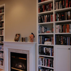 Eclectic Bookcases by Chantale & Co Inc.