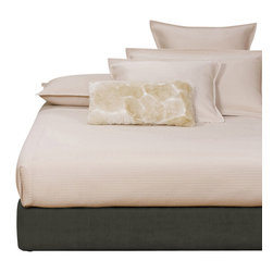 Howard Elliott - Sterling Charcoal King Boxspring Cover - The boxspring cover works as a fitted bed skirt. Textured charcoal grey cover provides the perfect base for your fits most standard size boxspring mattresses.